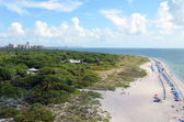 State Park Beach on Key Biscayne — Stock Photo