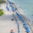 Stock Photo: Aerial View of Beach on Key Biscayne