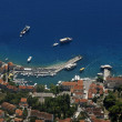 Stock Photo: Bol harbour from air