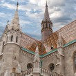 Stock Photo: Fishermen's Bastion in Budapest