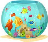 Aquarium — Stock Vector