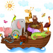 Noah's Ark — Stock Vector