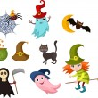 Halloween set — Stock Vector #11598267