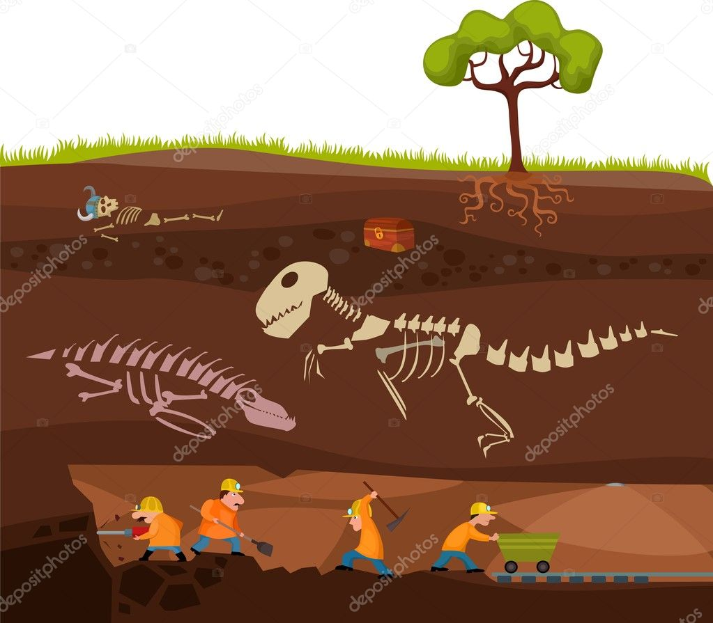 Vector illustration of a underground — Stock Vector #11769157