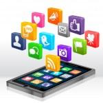 Social Media Apps — Stock Photo