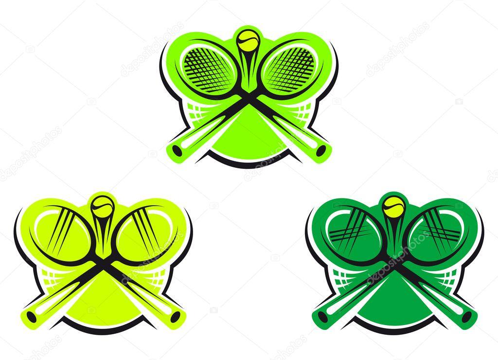网球图标和符号 — 图库矢量图片