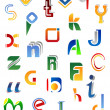 Full alphabet symbols — Stockvektor  #11206029