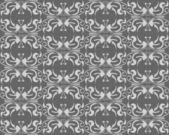 Abstract grijs floral naadloze — Stockvector