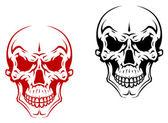 Human skull — Stock Vector