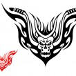 Royalty-Free Stock Vectorielle: Motorcycle tattoo