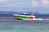 Speed boat — Stock Photo
