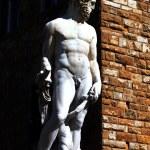 Statue von Neptun — Stockfoto