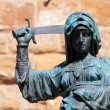 Statue of Judith and Holofernes — Stock Photo
