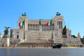 Monument Vittorio Emanuele II — Stock Photo
