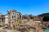 Roman forum ruins — Stock Photo