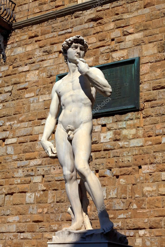 Statue of David in Flornce. Italy. Mediterranean Europe.  Stock Photo #11954223