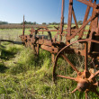 Rusting Old Farm Plough — Stock Photo #10852484