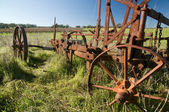 Rusting Old Farm Plough — Stock Photo