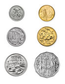 Australian Coins — Stock Photo