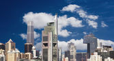 Beijing financial district — Stock Photo