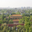 Stock Photo: Ancient building along Beijing central axis