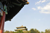 The pavilion of Jingshan Park — Stock Photo