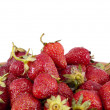 Heap of strawberry — Stock fotografie