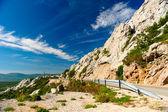 Malebné horské krajiny. chorvatsko — Stock fotografie