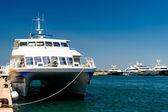 Port of Zadar city. Croatia — Stock Photo