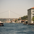 The bridge of Istanbul — Stock Photo