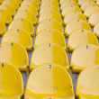 Empty yellow stadium seats — Stock Photo #10911812