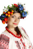 Ukrainian woman — Stock Photo