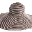 Striped  hat - Stock Photo