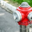 Water hydrant on street — Stock Photo