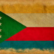 Comorian grunge flag - Stock Photo