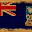 Stock Photo: Falkland islands grunge flag
