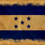 Honduras grunge flag — Stock Photo #11405143