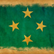 Micronesigrunge flag — Stock Photo #11405976