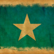 Somalia grunge flag — Photo