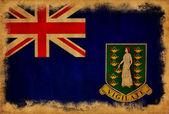Flaga ilustracja brytyjskie wyspy dziewicze — Zdjęcie stockowe