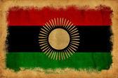 Malawi grunge flag — Stock Photo