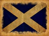 Bandera de escocia grunge — Foto de Stock