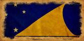 Tokelau grunge flag — Stock Photo
