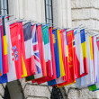 International flags in a row — Stock Photo #11834304