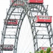 Ferris Wheel in Vienna Austria - Prater park — Stock Photo #11835370