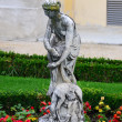 Stock Photo: Schonbrunn palace in ViennAustri- Garden statue