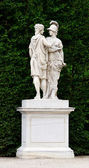 Schonbrunn palace in Vienna Austria - Garden statue detail — Stock Photo