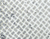 Seamless steel diamond plate background — Stock Photo