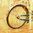 Stock Photo: Bicycle vintage background