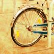 Bicycle vintage background — Stock Photo